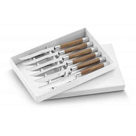 Box of 6 steak knives